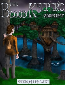 The cover art for The Blood Keeper's Prophecy was designed by Ann West, Brook's sister and fellow EKU alumna.